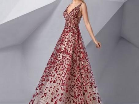 الاختيار الامثل لفساتين السهرة