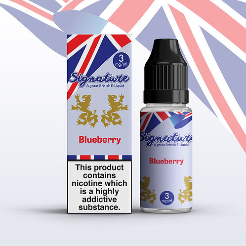 Signature 10ml – Blueberry Flavour