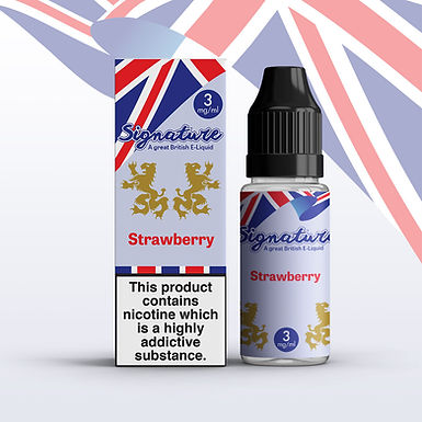 Signature 10ml – Strawberry Flavour
