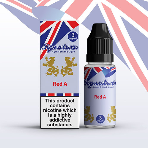 Signature 10ml – Red A Flavour