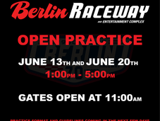 Open practice june 13th and 20th