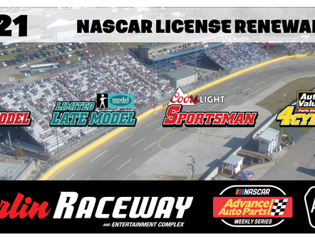 NASCAR License Renewal is OPEN