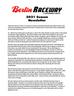 2021 Berlin Raceway Newsletter
