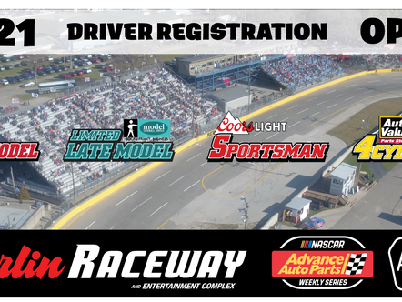 2021 Driver Registration is now OPEN