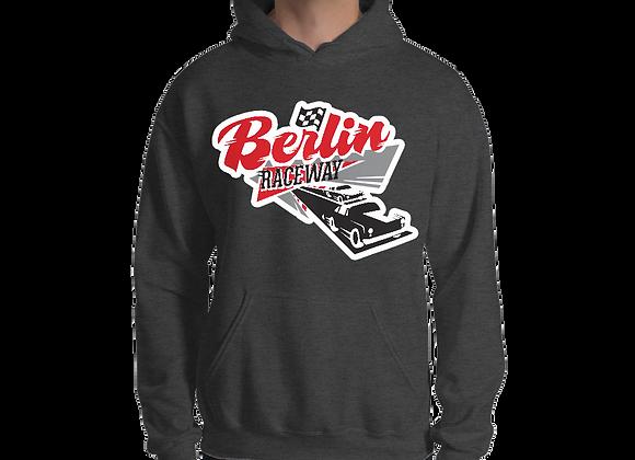 Berlin Retro Hoodie - Sport Dark Grey