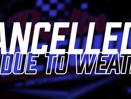 April 24th Event Canceled