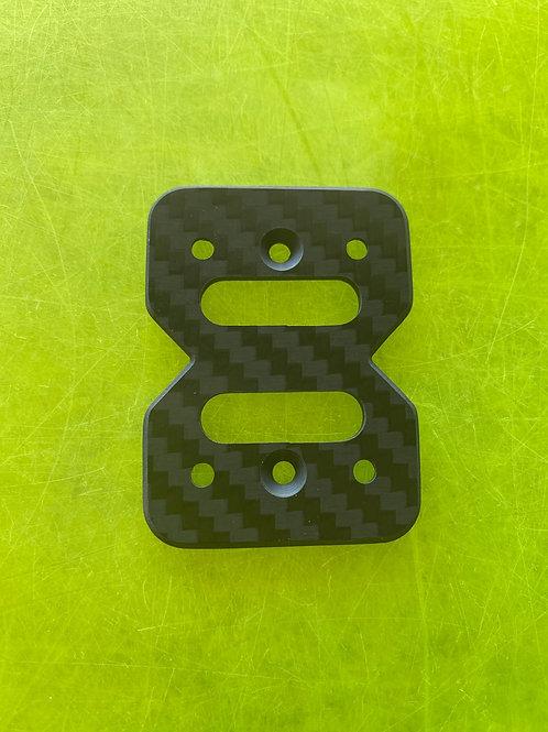 8ightXE carbon fiber center diff top plate (thin)