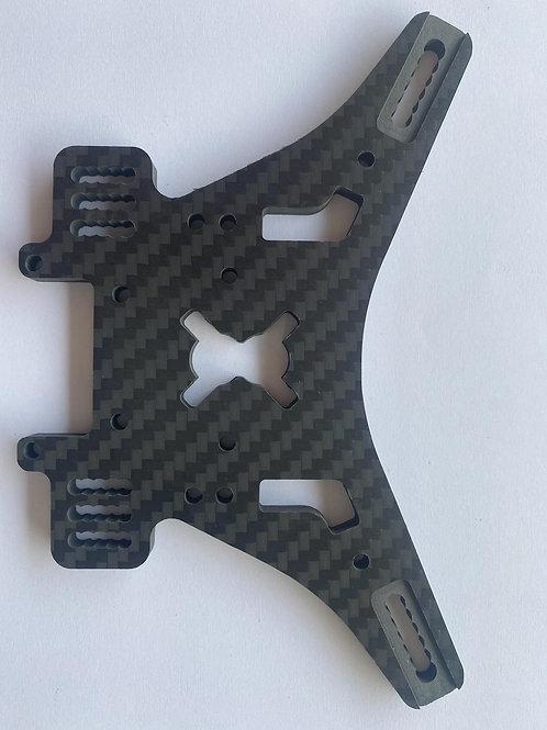 8ight XT carbon fiber Truggy rear shock tower -