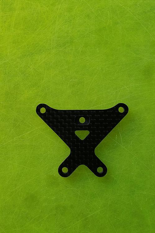 22X-4 carbon fiber FRONT top brace- 2mm thin -