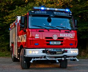 Zásah 6.1.2021 - požár Doubek