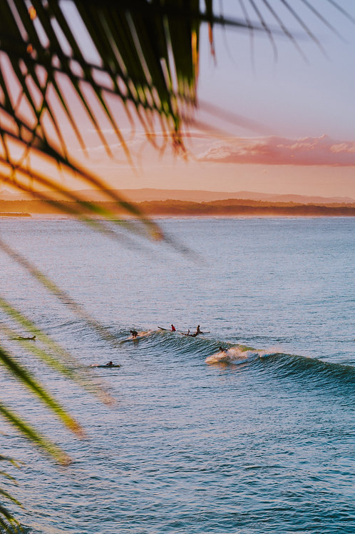Surf on Noosa Main Beach