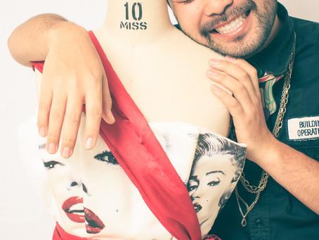 カメラマン羽田哲也のブログ:【 Marilyn Monroe ART展 】撮影!