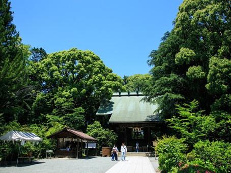 報徳二宮神社にてお宮参り撮影