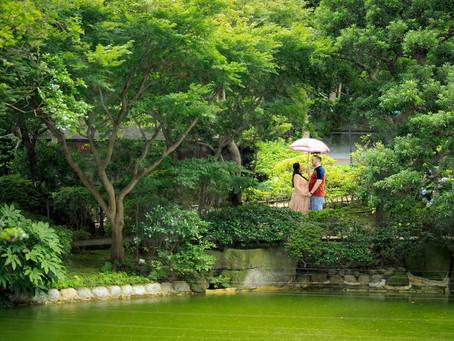 グランドプリンス高輪の日本庭園でマタニティフォト撮影!