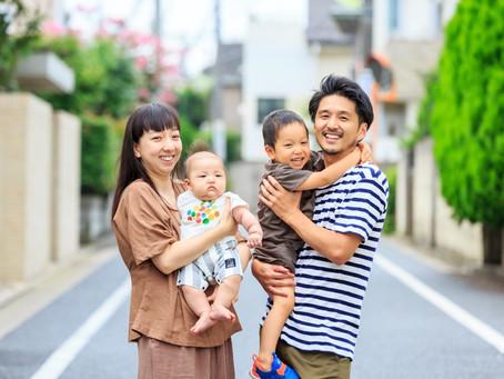 毎月、何10組ものご家族の笑顔を撮影してきました!