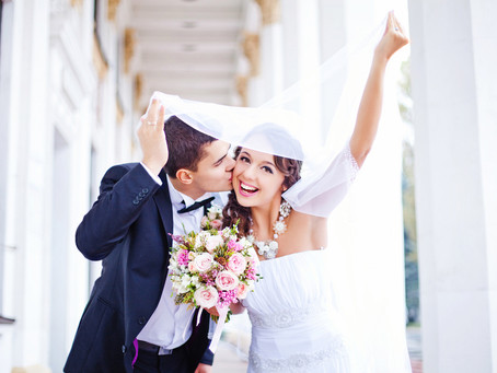 Here's a quick routine to get over your wedding day jitters