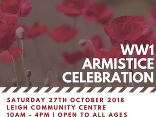 CELEBRATING THE CENTENARY OF THE END OF THE GREAT WAR