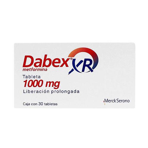 DABEX XR (METFORMIN) EXTENDED RELEASE 1000 mg 30 tabs