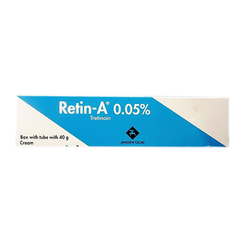 Retin A Tretinoin 0.05% 40g Cream Vitamin A EXP. 11/2020