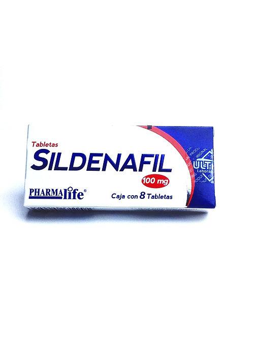 Sildenafil 100 mg 8 tabs