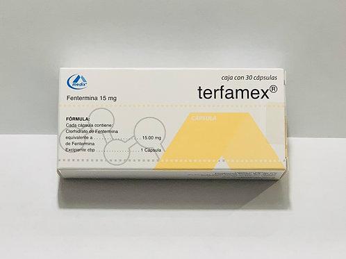 TERFAMEX 15 mg 30 CAPSULES