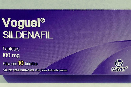 Voguel (Sildenafil) 100mg box with 10 tablets