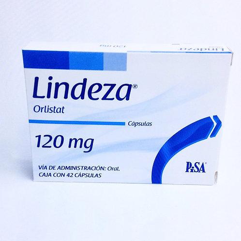 Lindeza (Orlistat) Box with 42 capsules