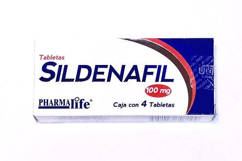 Sildenafil 100 mg 4 tabs