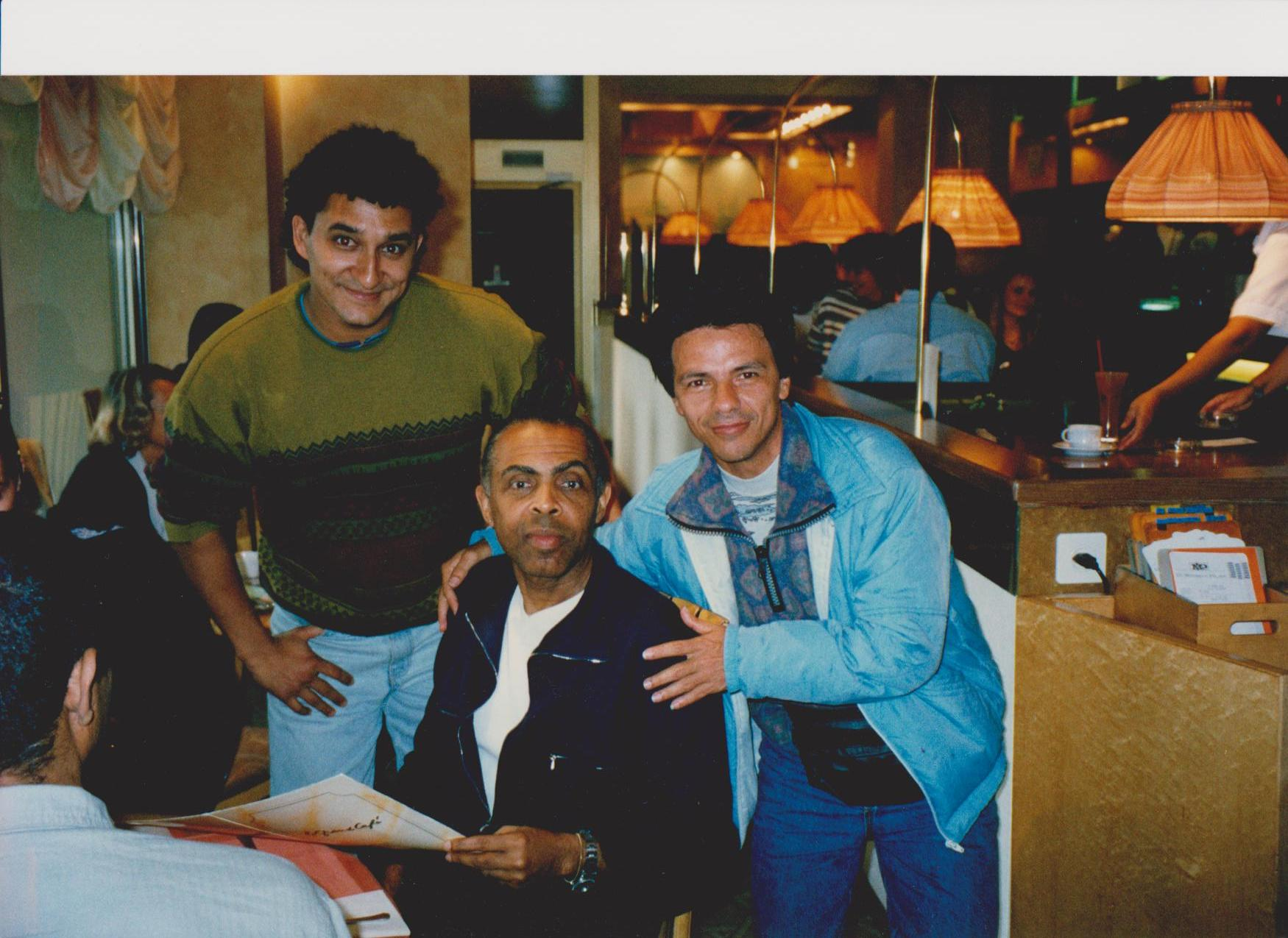 Luccablue and Gilberto Gil