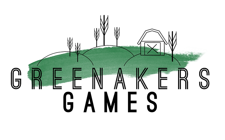 Green Akers Games Primary Logo
