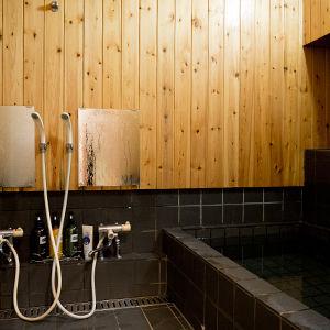 ペンション朝ねぼう自慢の貸切温泉|内風呂