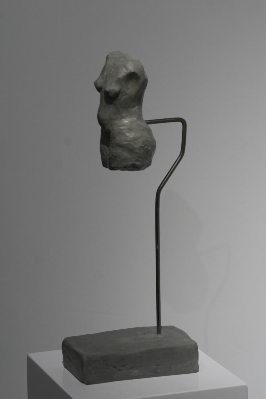 grey Torso 2019, Clay,  32x9x14,5