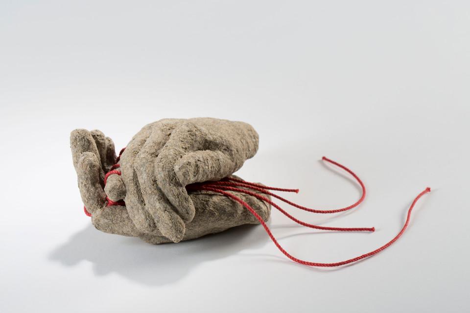 Feldpost 2019, Pulpe, Schnur 15x8x13 cm