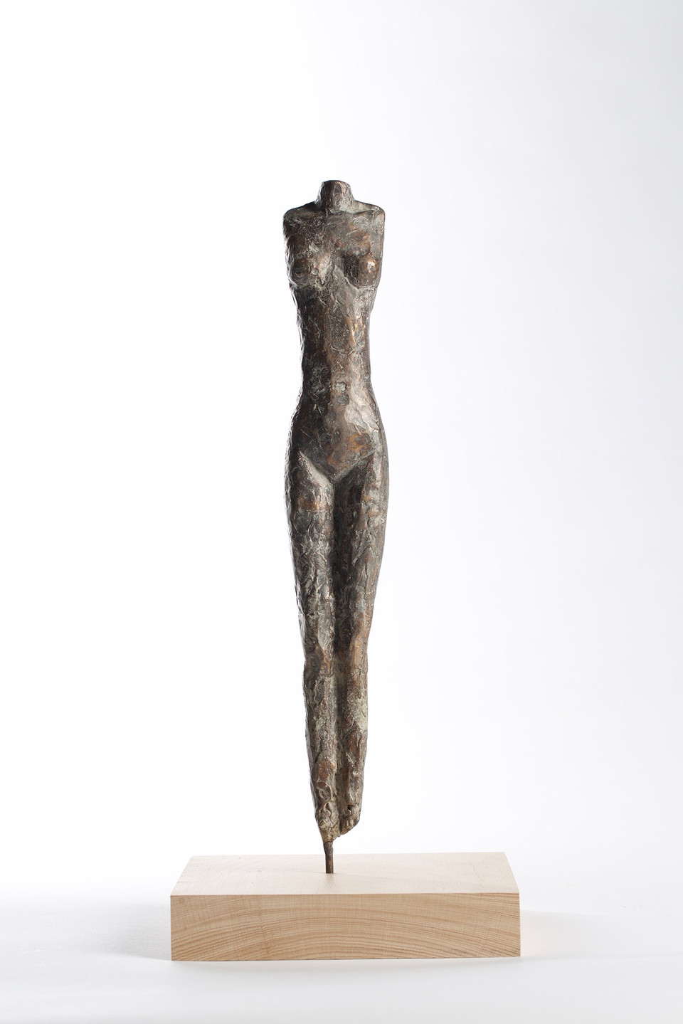 Torso 2017, Bronze 29x5,5x4,5 cm