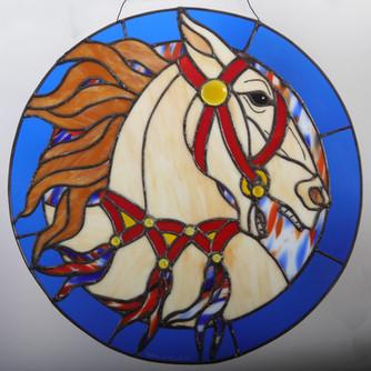 Americana Carousel Horse