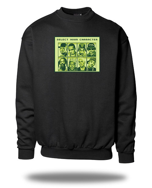 Select your Character Sweatshirt