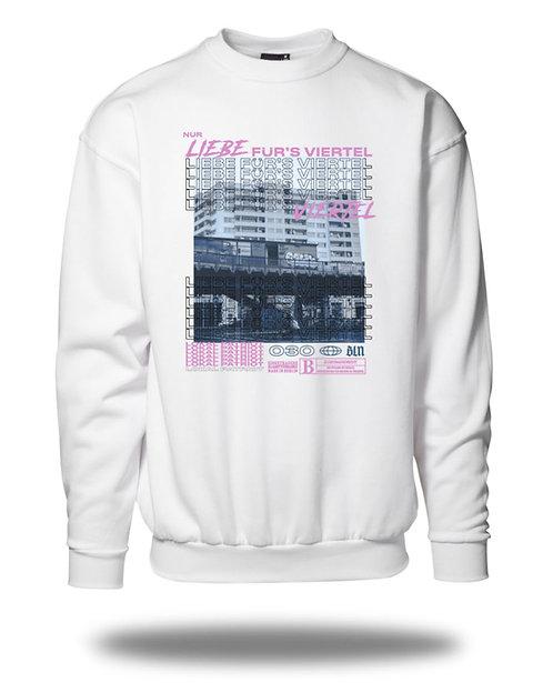 Nur Liebe für´s Viertel Sweatshirt
