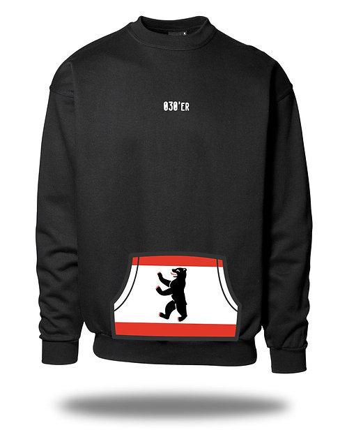 030er Sweatshirt - Berlin Flagge