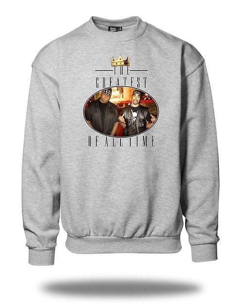 G.O.A.T. - Biggie & Pac Sweatshirt