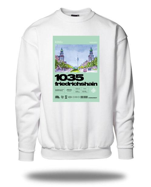 Friedrichshain 1035 Sweatshirt