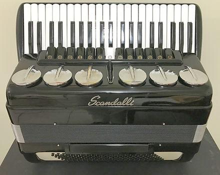 Scandalli Accordion Restoration & Tuning by Accordions by De Vincenzo, Miami, FL