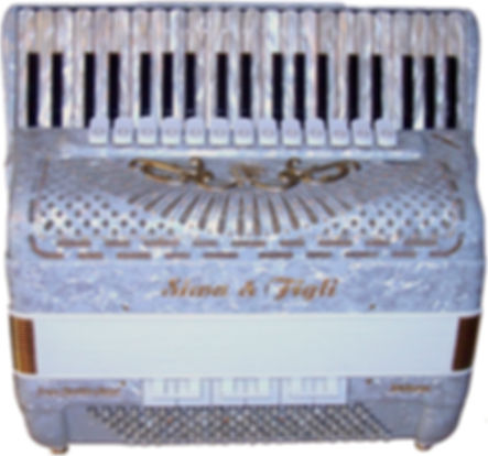 White Accordion, Super Quattro Artist, Siwa & Figli for sale