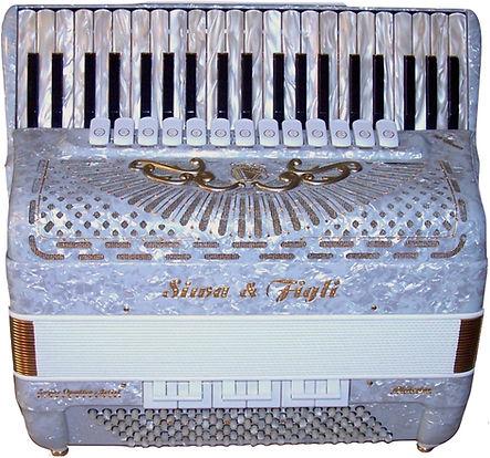 White Accordion, Super Quattro Artist, Siwa & Figli for sale