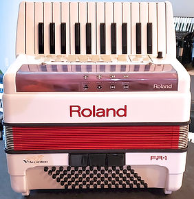 Roland FR-1 Accordions by De Vincenzo, Miami, FL