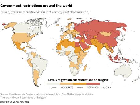 Informe: la persecución religiosa a nivel global