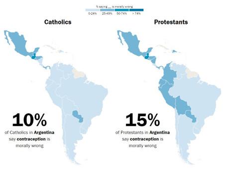 """En Argentina, los protestantes son más """"practicantes"""" que los católicos"""