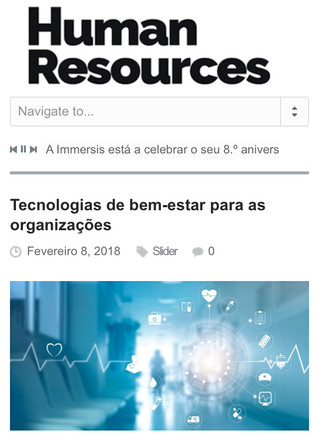 Tecnologias do Bem-Estar (HR Portugal)