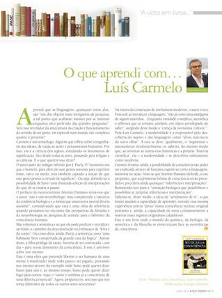 Músicas da Consciência de Luís Carmelo