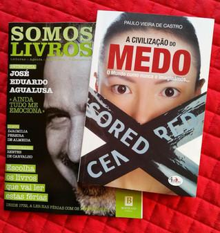 Nova obra em destaque em Portugal