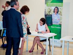 Nanci book signing